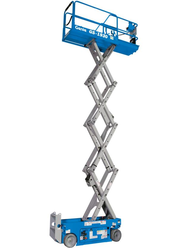 Where to find Scissor Lift, Slab 19  Platform Height in Columbia