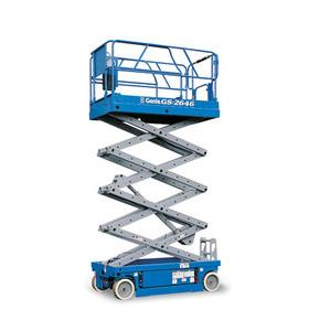 Where to find Scissor Lift, Slab 26   Platform Height in Columbia