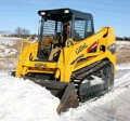 Where to rent Track Loader Small w  Brush Hog Package in Columbia MO