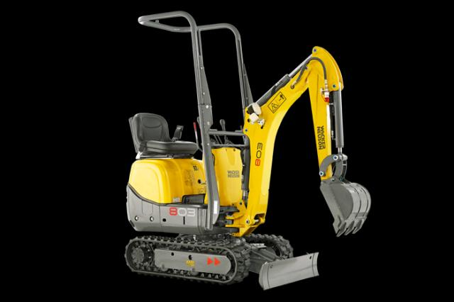 Where to find Excavator, Wacker Model 803  1 in Columbia