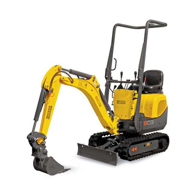 Where to find Excavator,Wacker Model 803 in Columbia