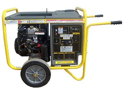 Where to find Generator, 9,700 Watt Gas in Columbia
