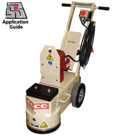 Where to find Floor Grinder Single Head Elect Bare in Columbia