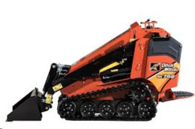Rent Skid Loaders - Stand On
