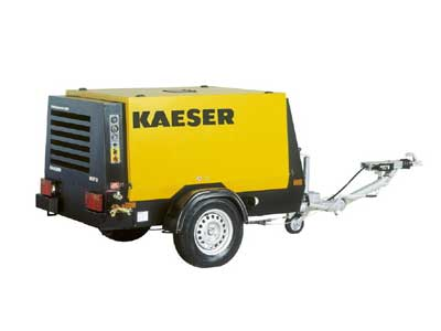 Rent Air Compressor Large &  Packages