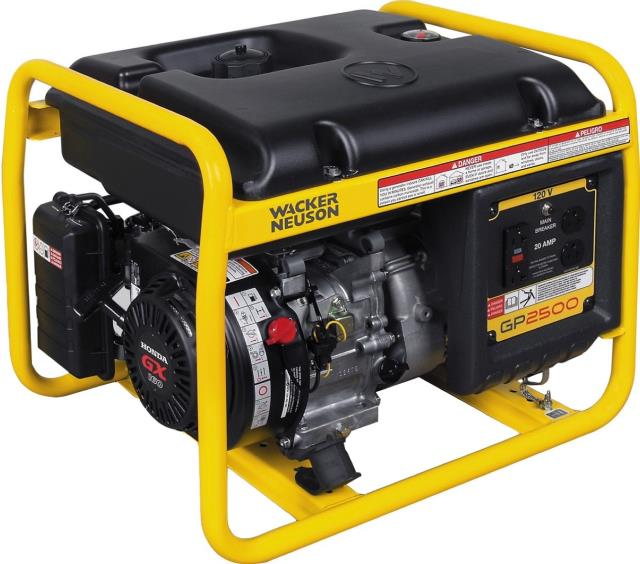 Generator rentals in Central Missouri